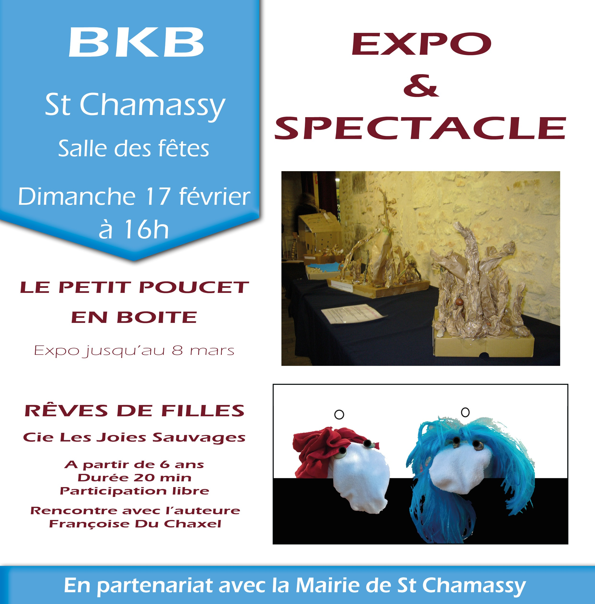 Expo St Chamassy site web